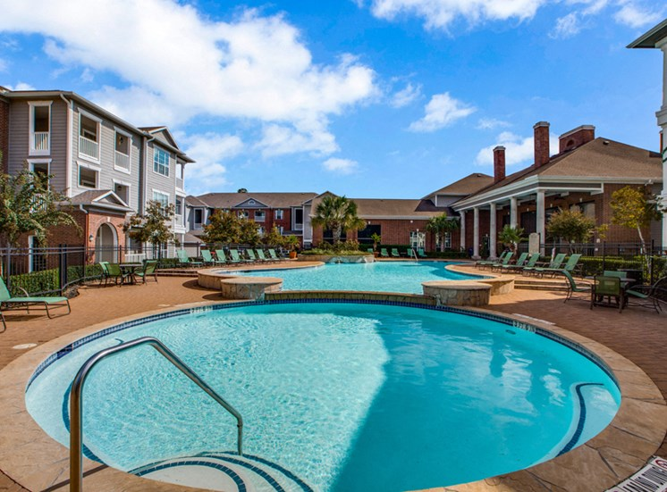 Plantation at the Woodlands, Rental Apartments, The Woodlands, TX, outdoor swimming pool