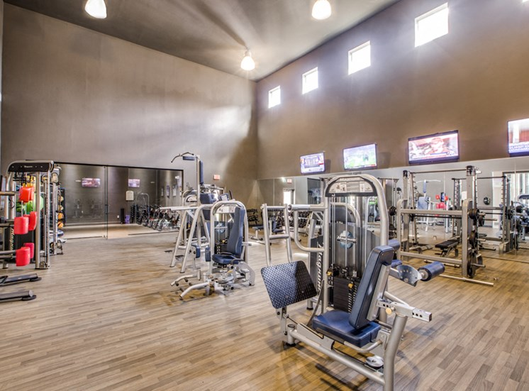 Plantation at the Woodlands, Rental Apartments, The Woodlands, TX, fitness center