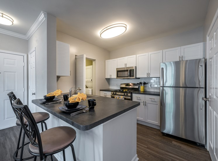 The Residences at Springfield Station, Apartments for rent in Springfield, VA, modern kitchen