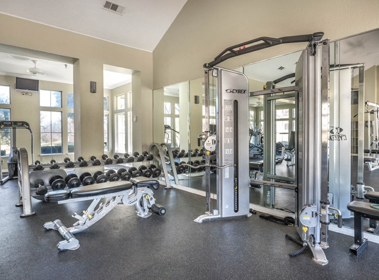 Creekside at Legacy; Apartments for Rent Plano, TX, Fitness Center