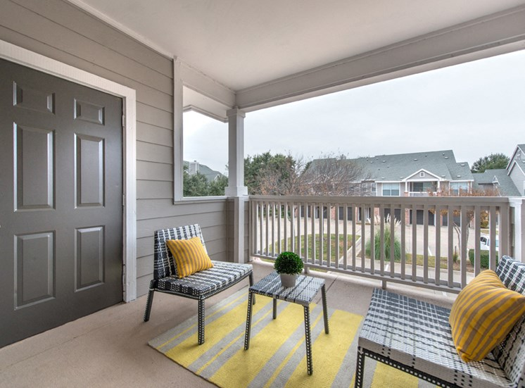 Creekside at Legacy; Apartments for Rent Plano, TX, Balcony