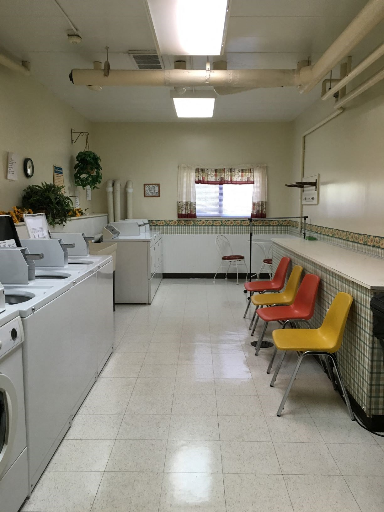 Laundry Room at Bridgeport Manor Bridgeport, West Virginia