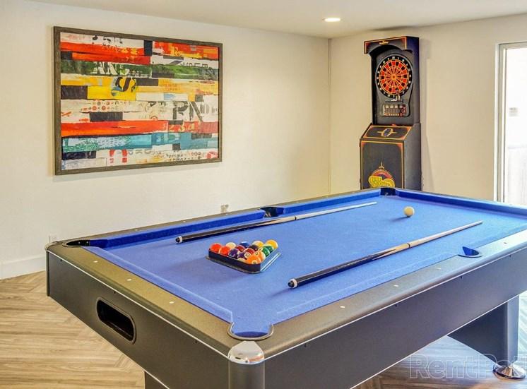 Clubhouse billiard