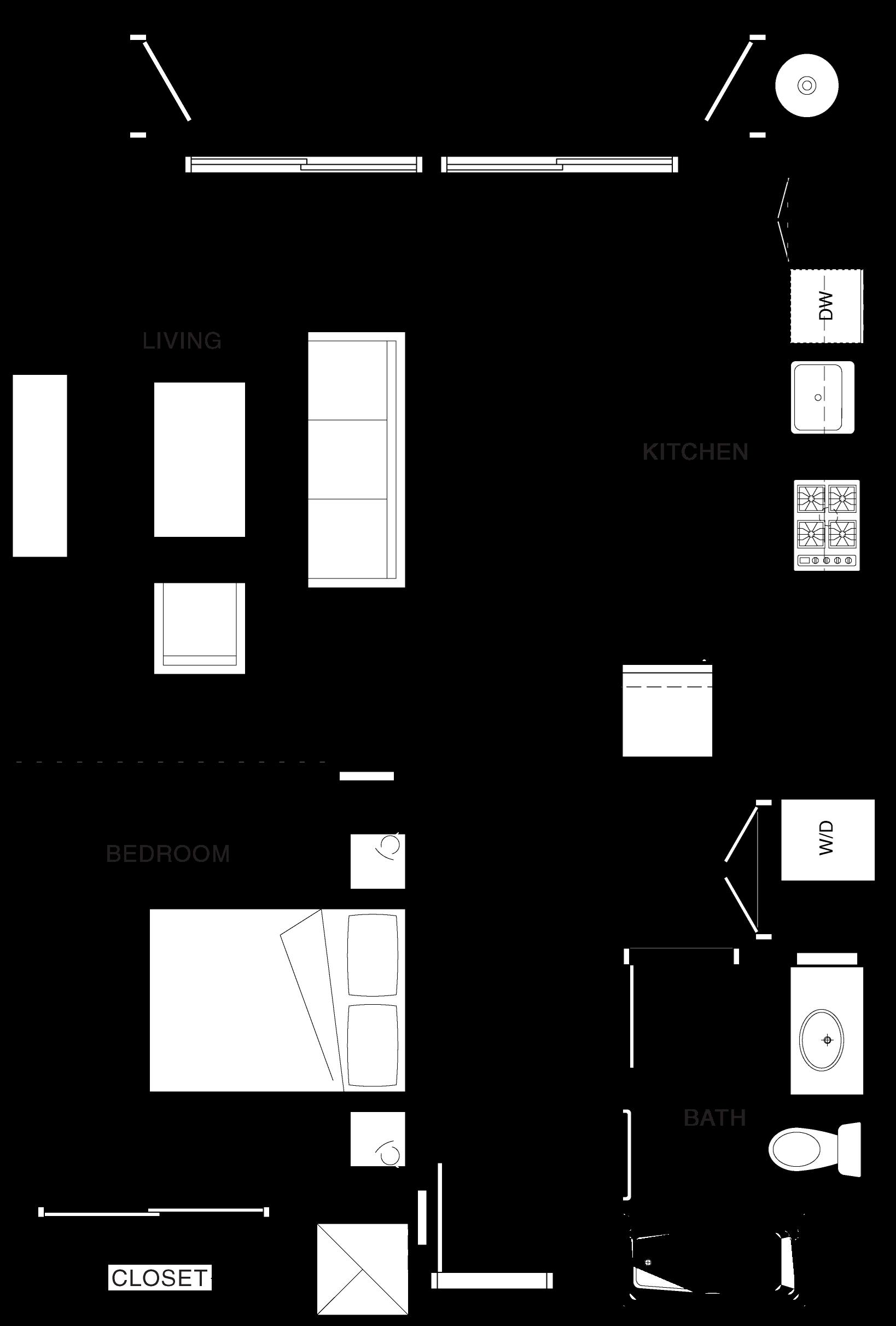 1C Floor Plan 1