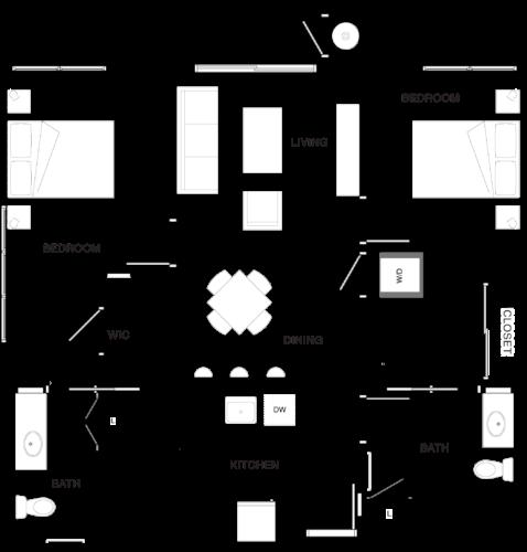 2A-2 Floor Plan 12
