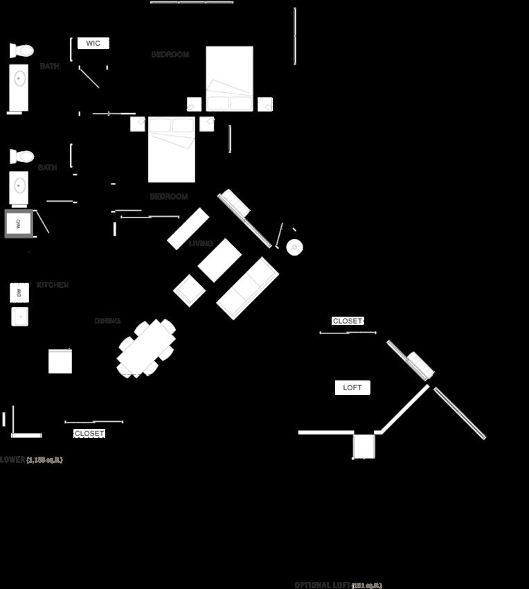2B-2L Floor Plan 15