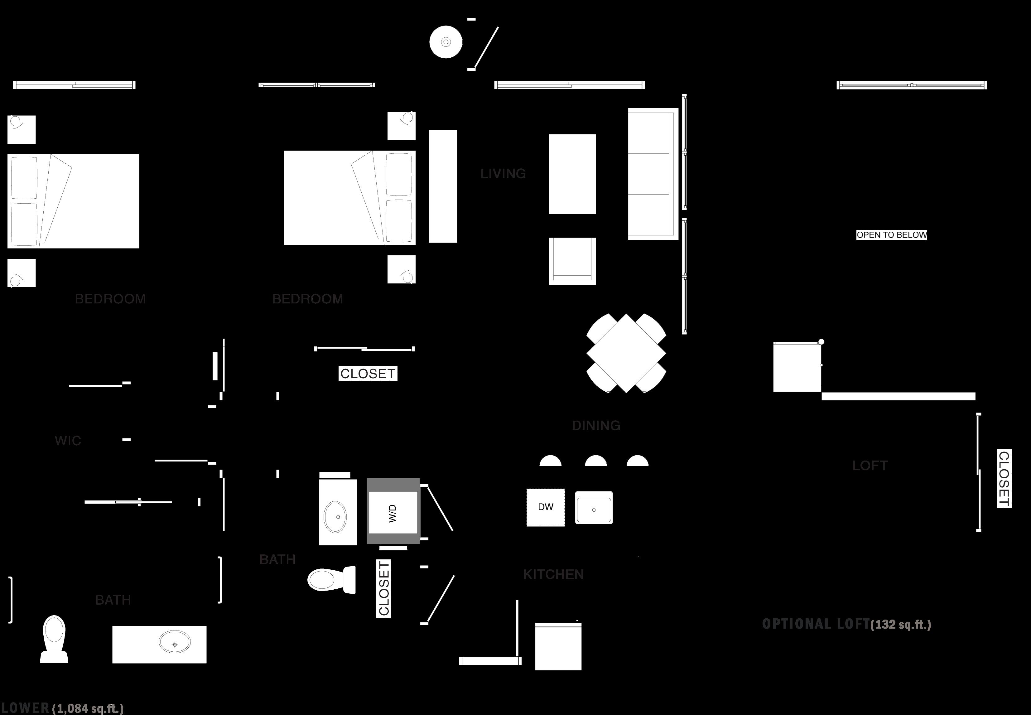 2C-1L Floor Plan 11