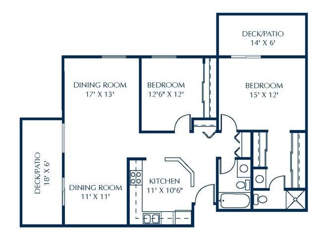 Q2-C Floor Plan 1