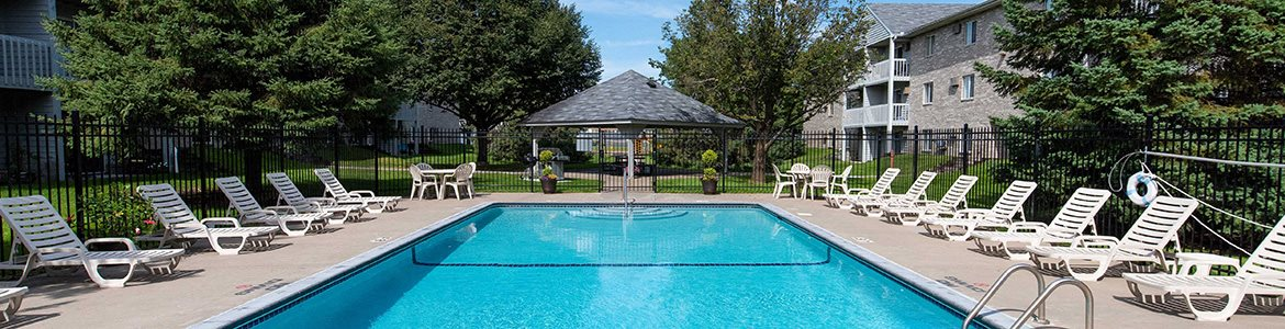 Resort-Style Pool at Northpointe Apartments-Coon Rapids, Minnesota