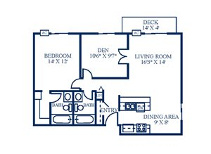 Floor Plan at Northpointe Apartments-Coon Rapids, Coon Rapids