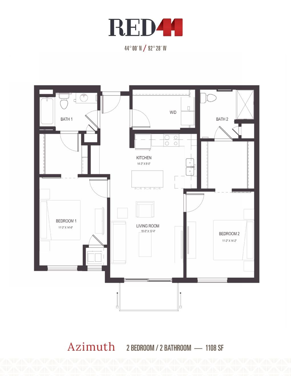 Azimuth Floor Plan 12