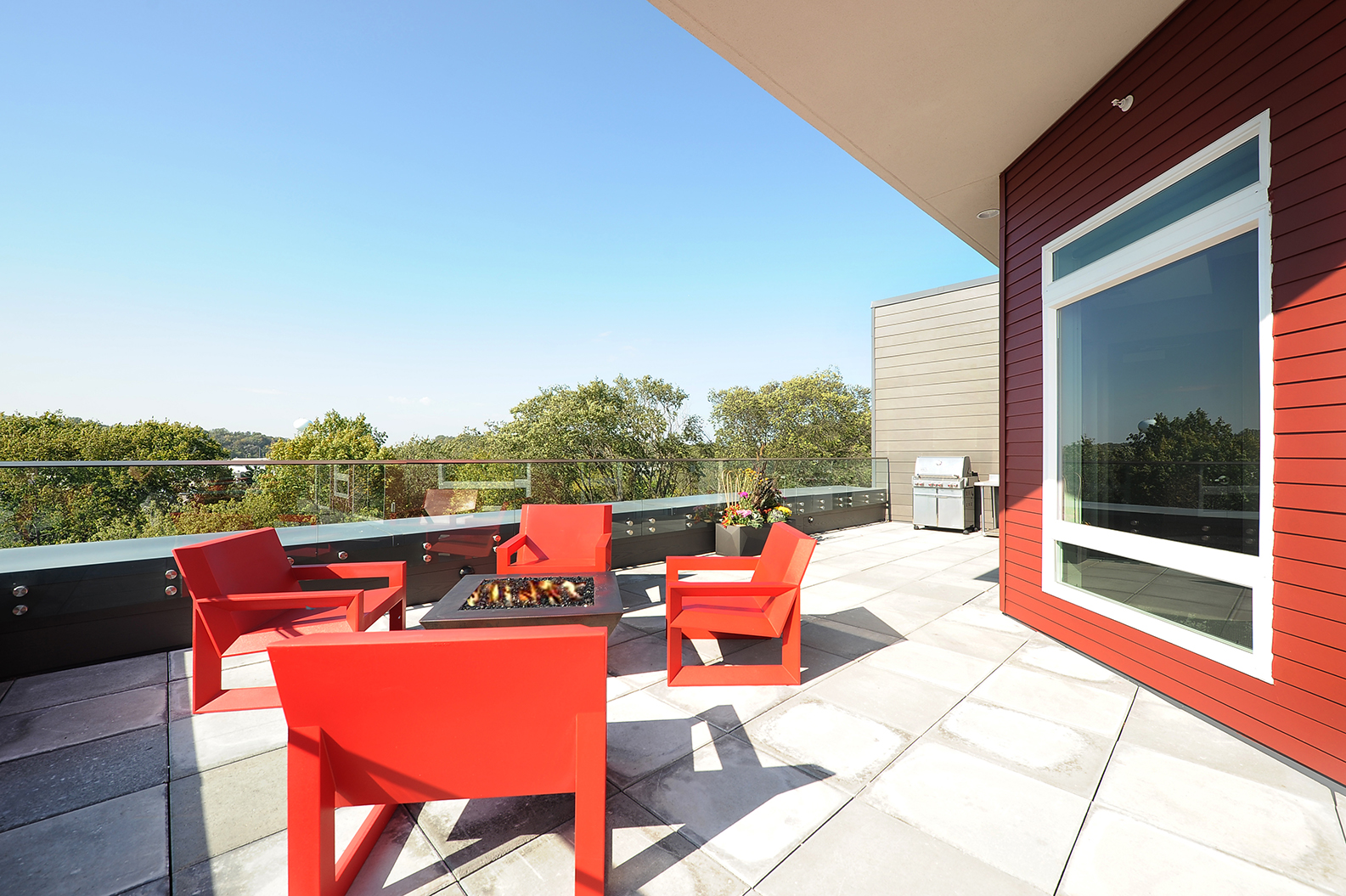 Terrace Lounge at Red44, Rochester, 55902