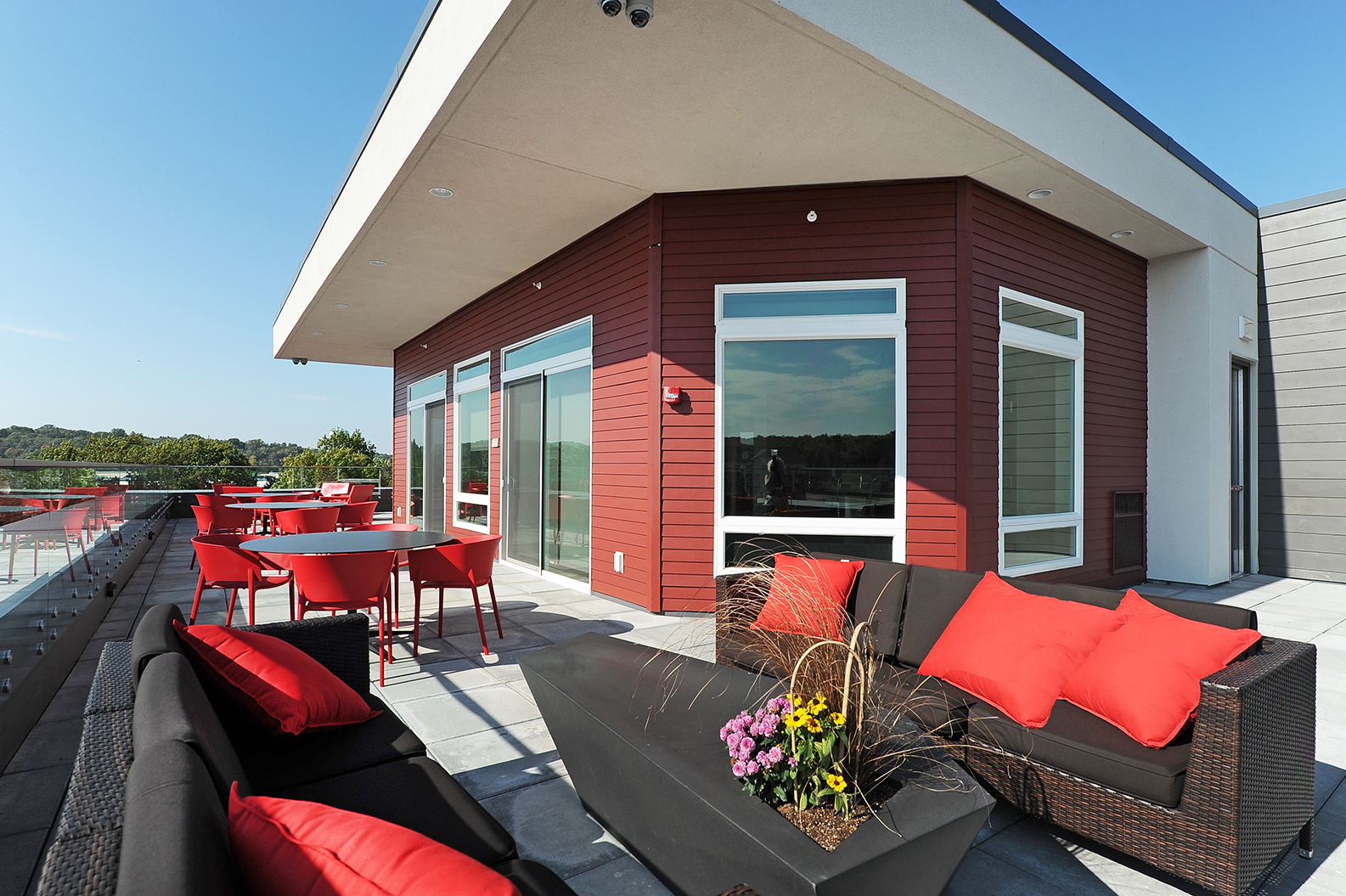 Terrace Lounge at Red44, Rochester, MN