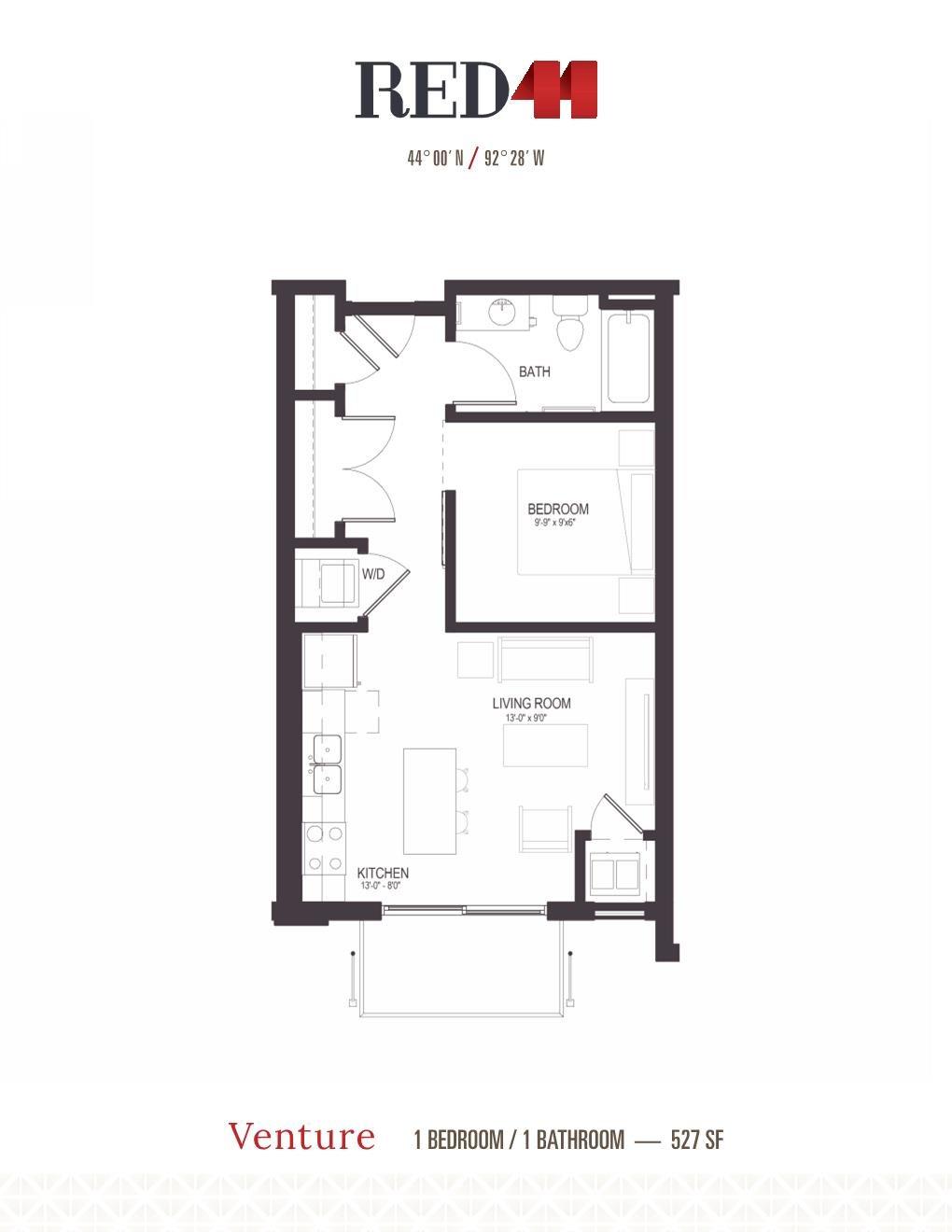 Venture Floor Plan 1