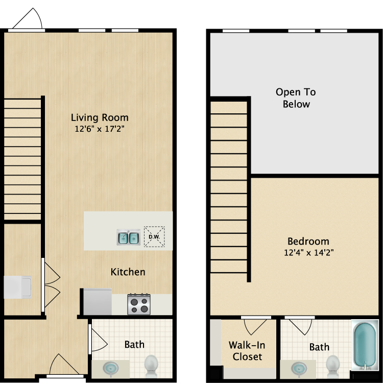 Townhome Floor Plan 2
