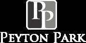 Peyton Park luxury apartments logo.