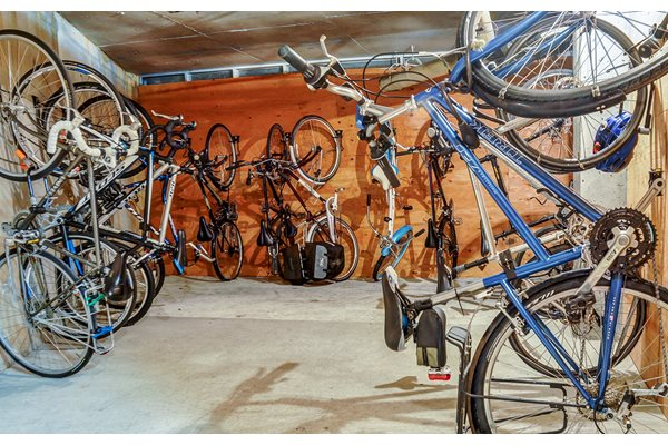 Bike Storage at Axcess 15 Apartments, Portland, Oregon