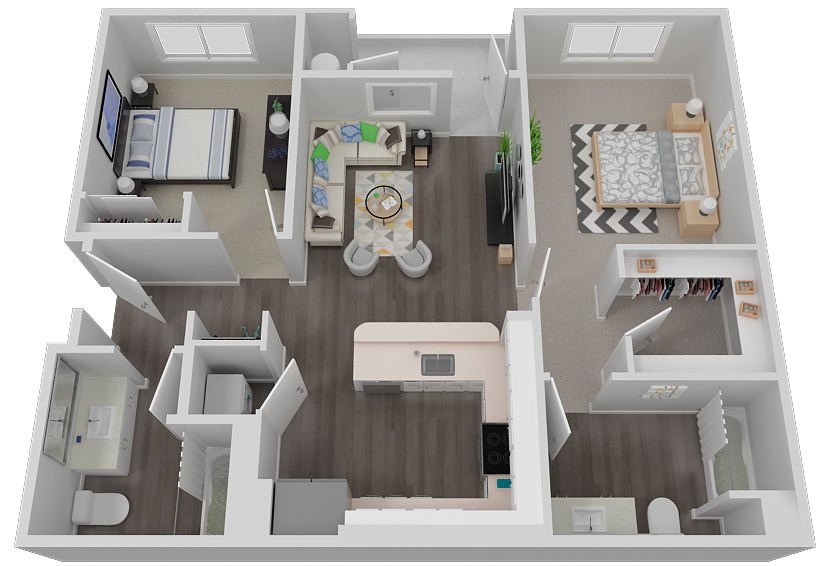 Uffizi Floor Plan 3