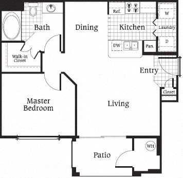 Maple Floor Plan 1