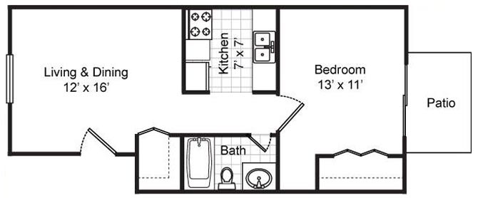 one bedroom one bath - One Bedroom Apartments Gainesville Fl