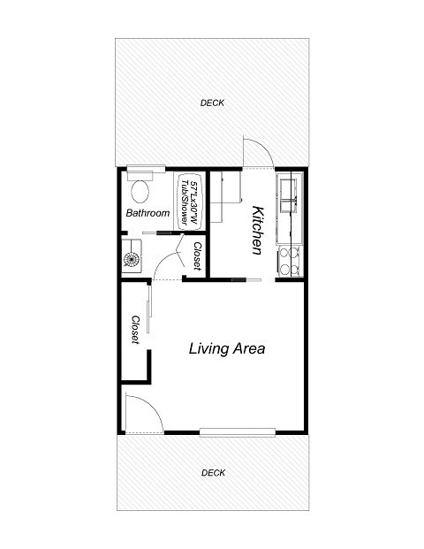 Studio - Downstairs Floor Plan 1