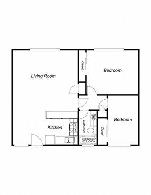 2-Bedrooms, 2-Bathrooms (au)