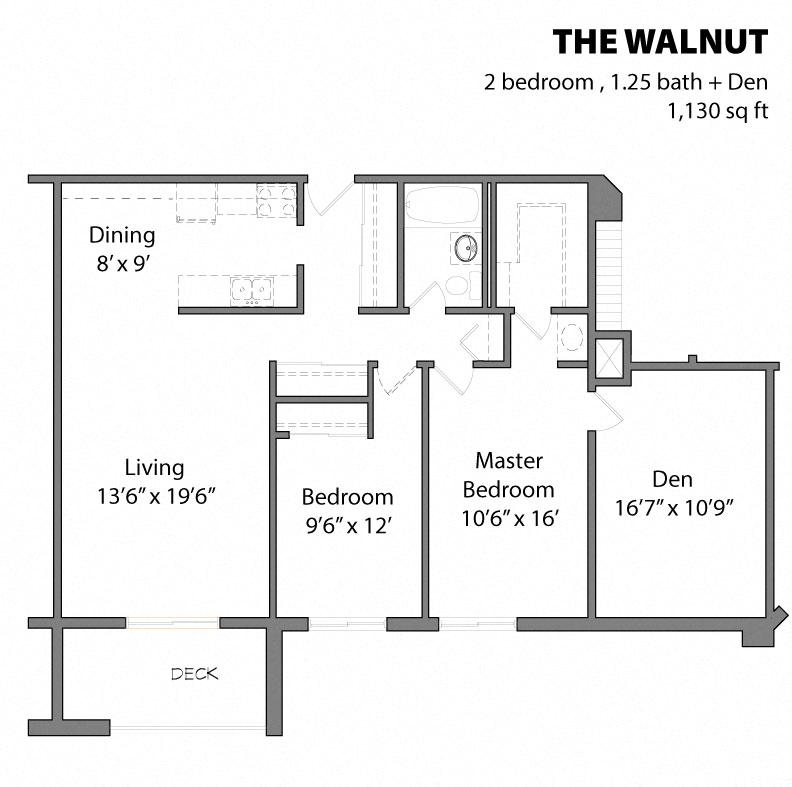 Aspenwood Apartments: Studio, 1 & 2 Bedroom Apartments