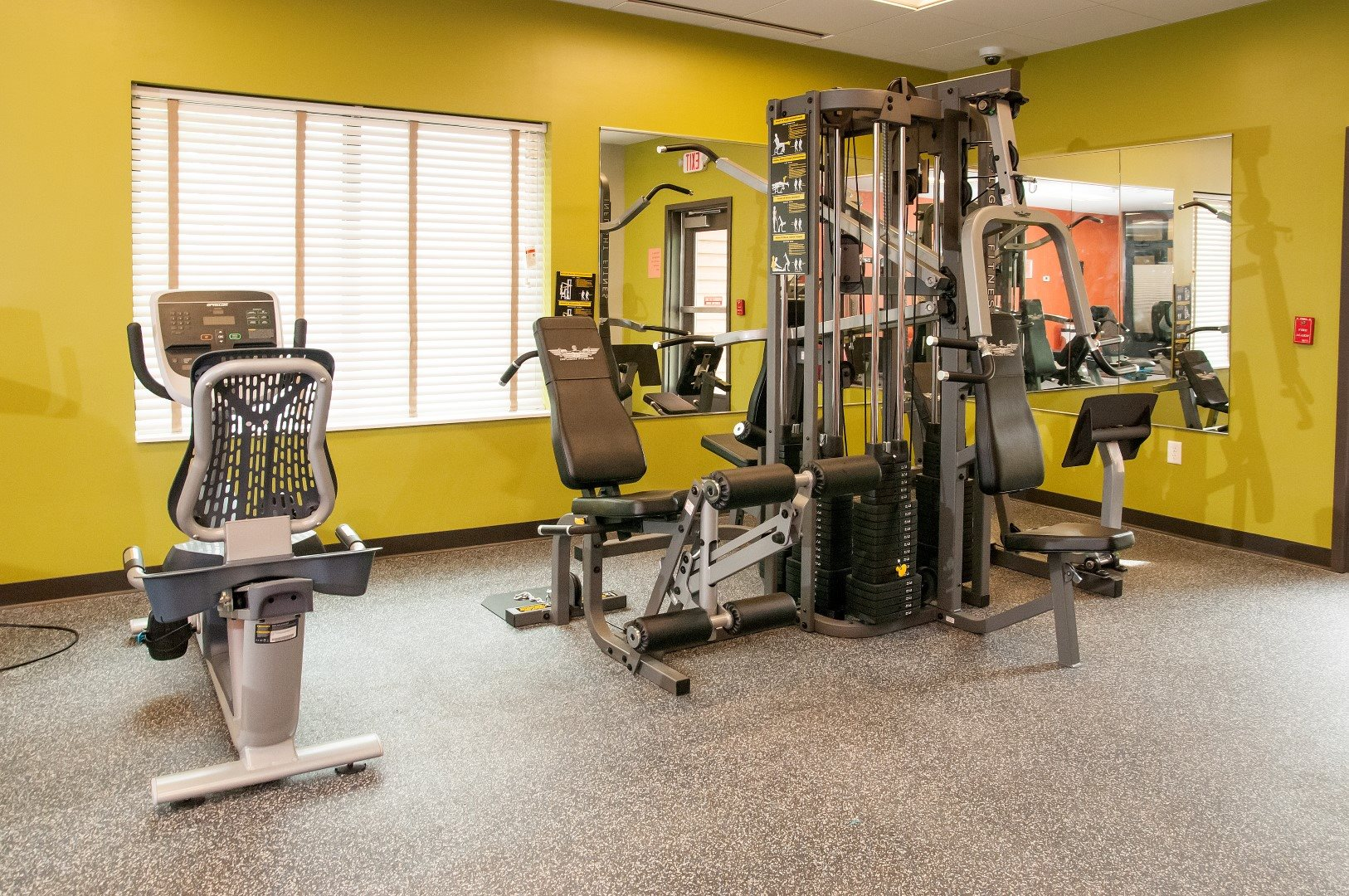 24 hour Fitness Center at Terra Pointe Apartments, Minnesota