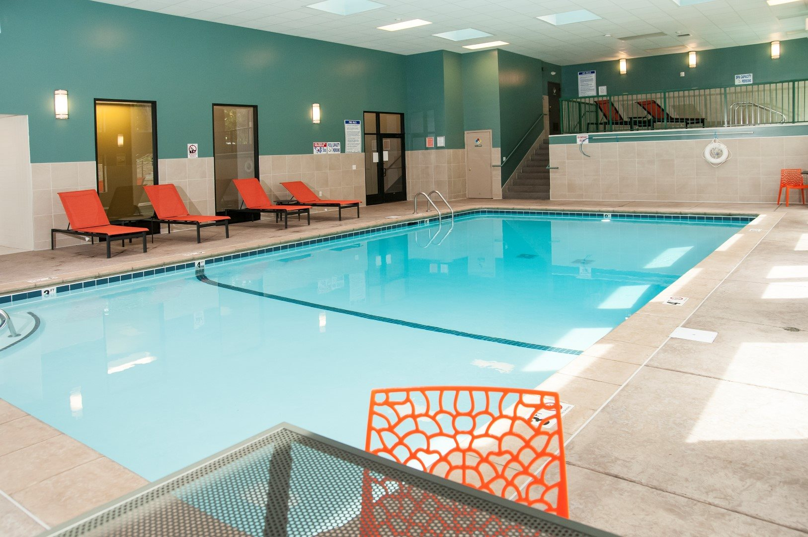 Relaxing Indoor Pool at Terra Pointe Apartments, St. Paul, MN