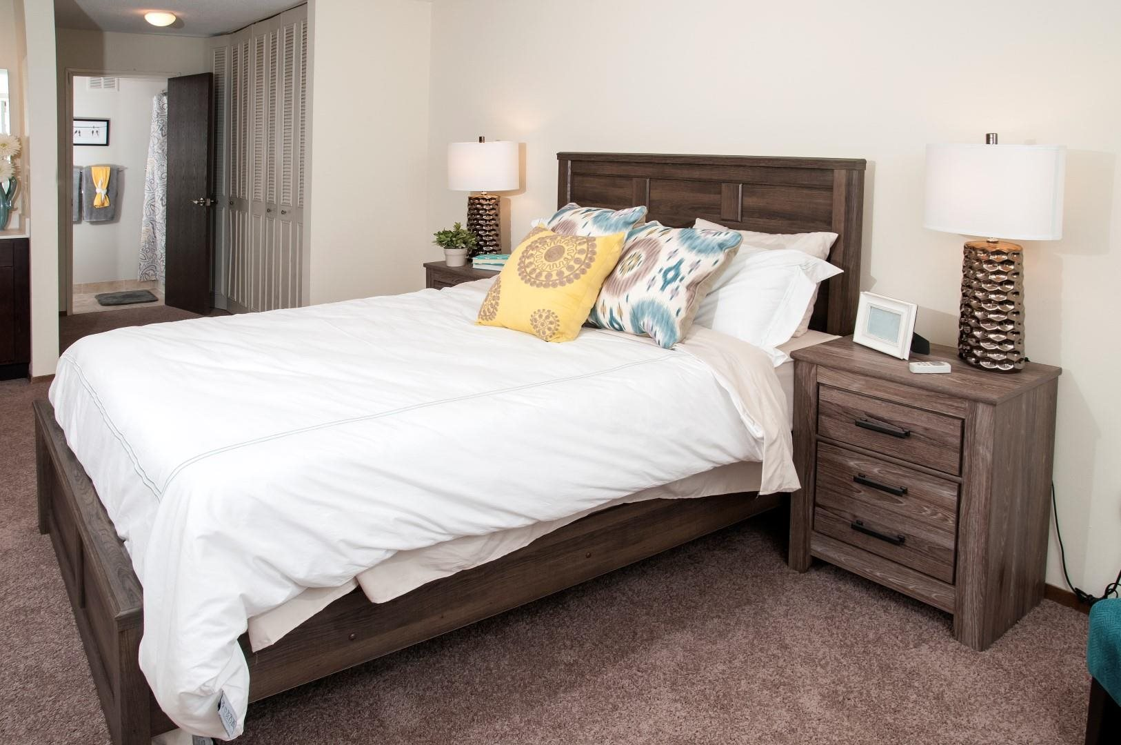 Specious Bedrooms with Upgraded Interior at Terra Pointe Apartments, Minnesota