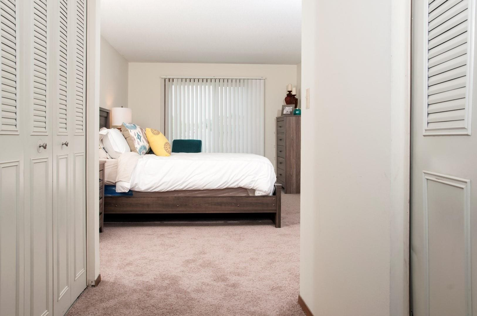 Expansive Bedroom with Upgraded Interior at Terra Pointe Apartments, St. Paul, MN