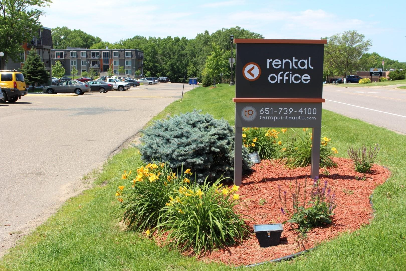 Rental Office at Terra Pointe Apartments, St. Paul