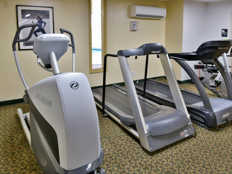 Cardio Equipment at Hillsborough Apartments, Roseville, Minnesota