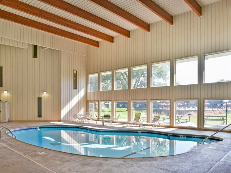 Glimmering Pool at Hillsborough Apartments, Minnesota, 55113