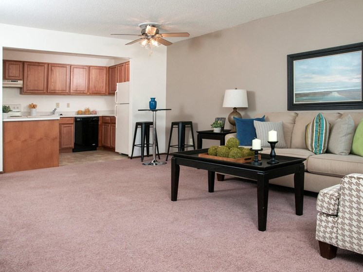 Luxurious Interiors at Hillsborough Apartments, Minnesota, 55113