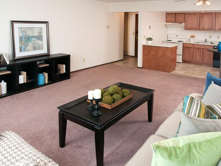 Comfortable Homes at Hillsborough Apartments, Roseville, Minnesota