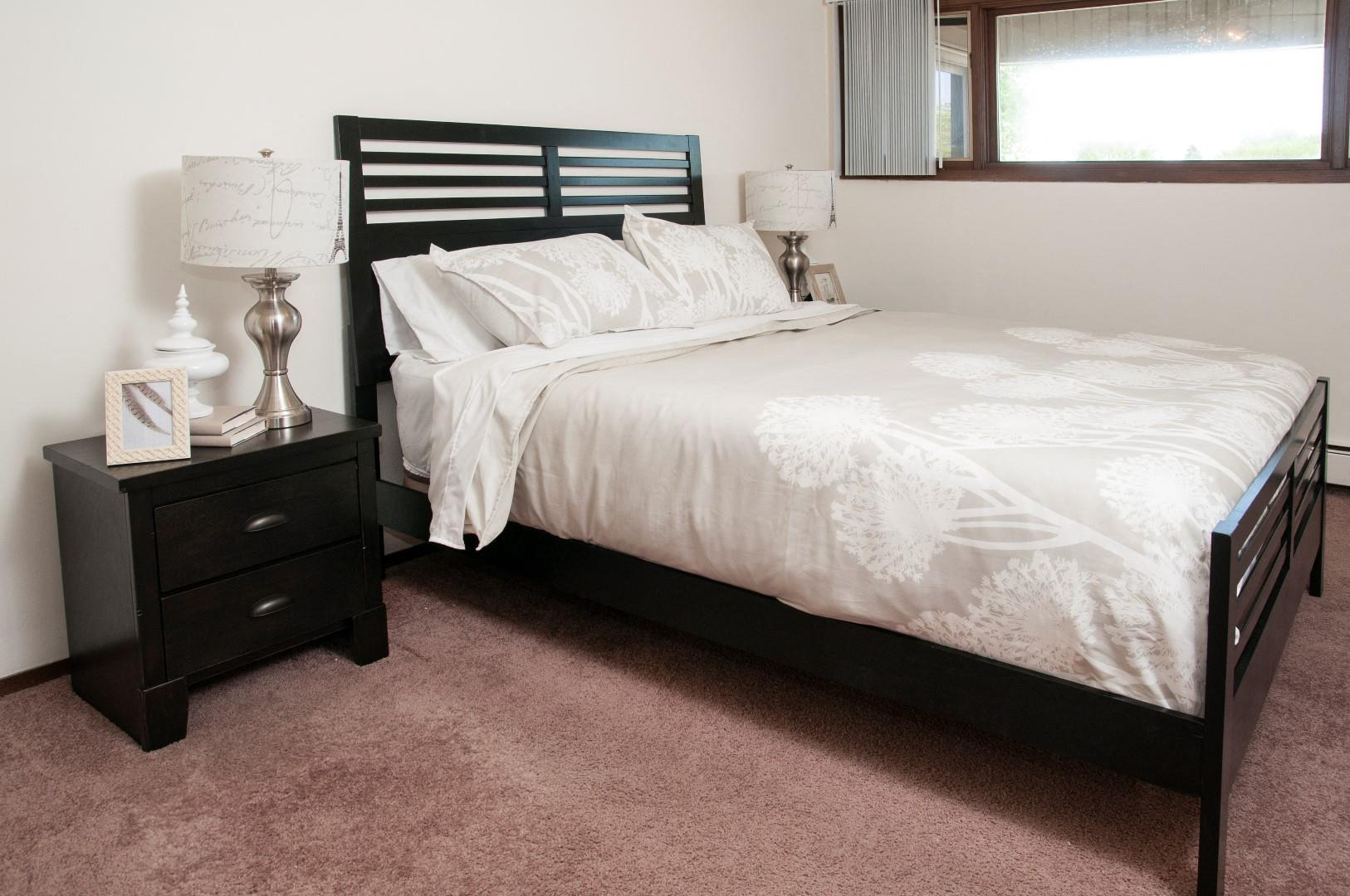 Spacious Bedrooms at Hillsborough Apartments, Roseville