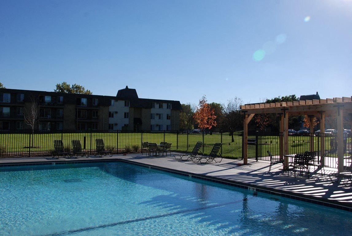 Sparkling Swimming Pool at Shoreview Grand, Shoreview, Minnesota