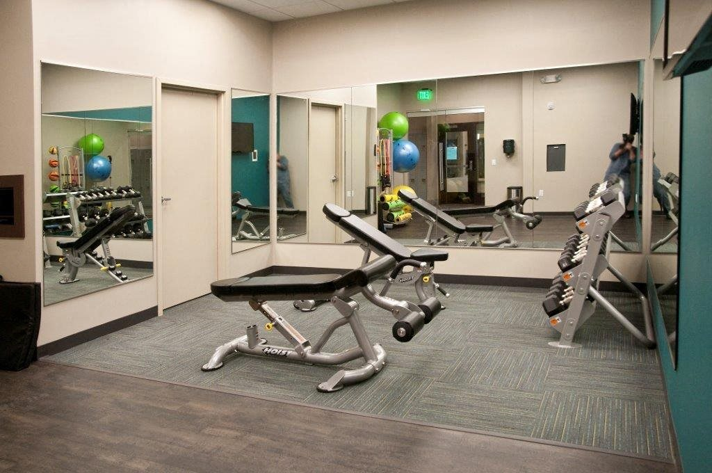 Fitness Center with Separate Spin Room at Shoreview Grand, Shoreview, Minnesota