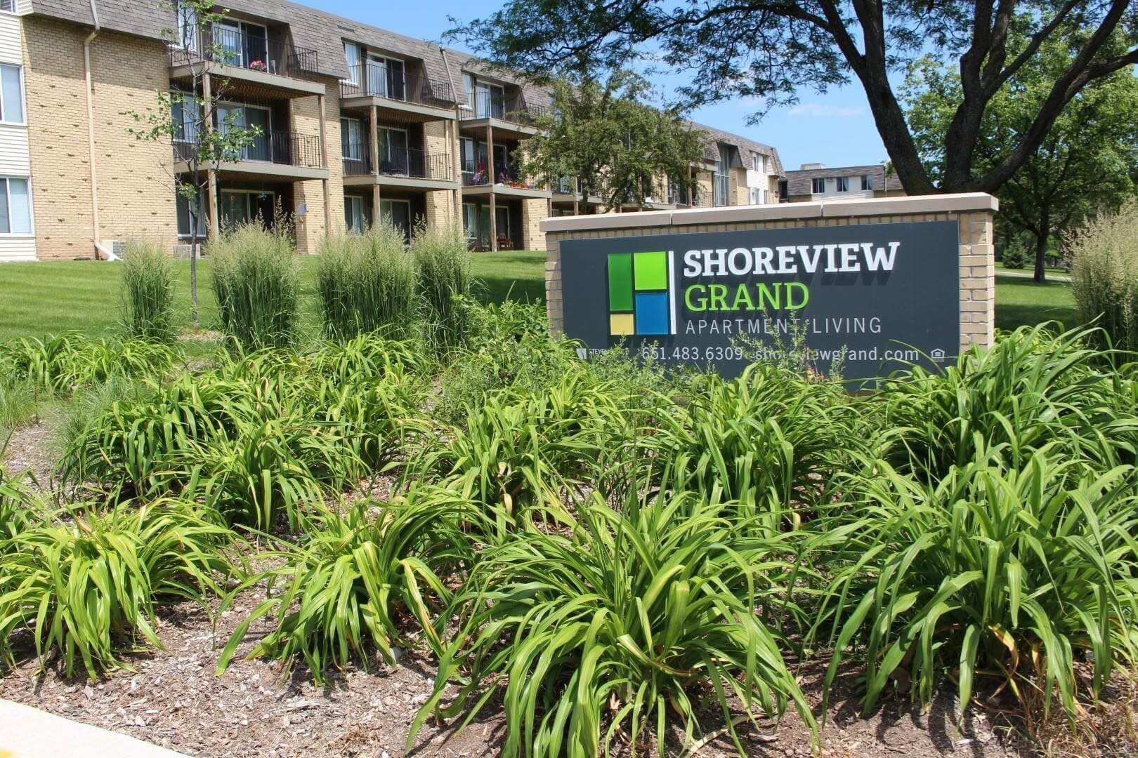 Lovely Rock Creek Park Views at Shoreview Grand, Shoreview, MN 55126