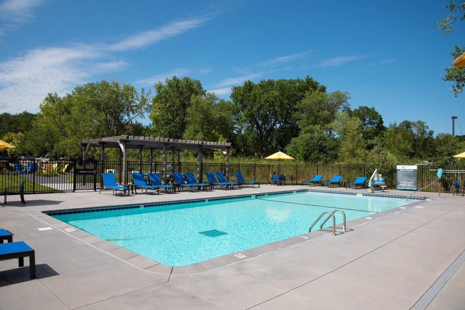 Swimming Pool at Shorview Grand best apartments in Shoreview MN