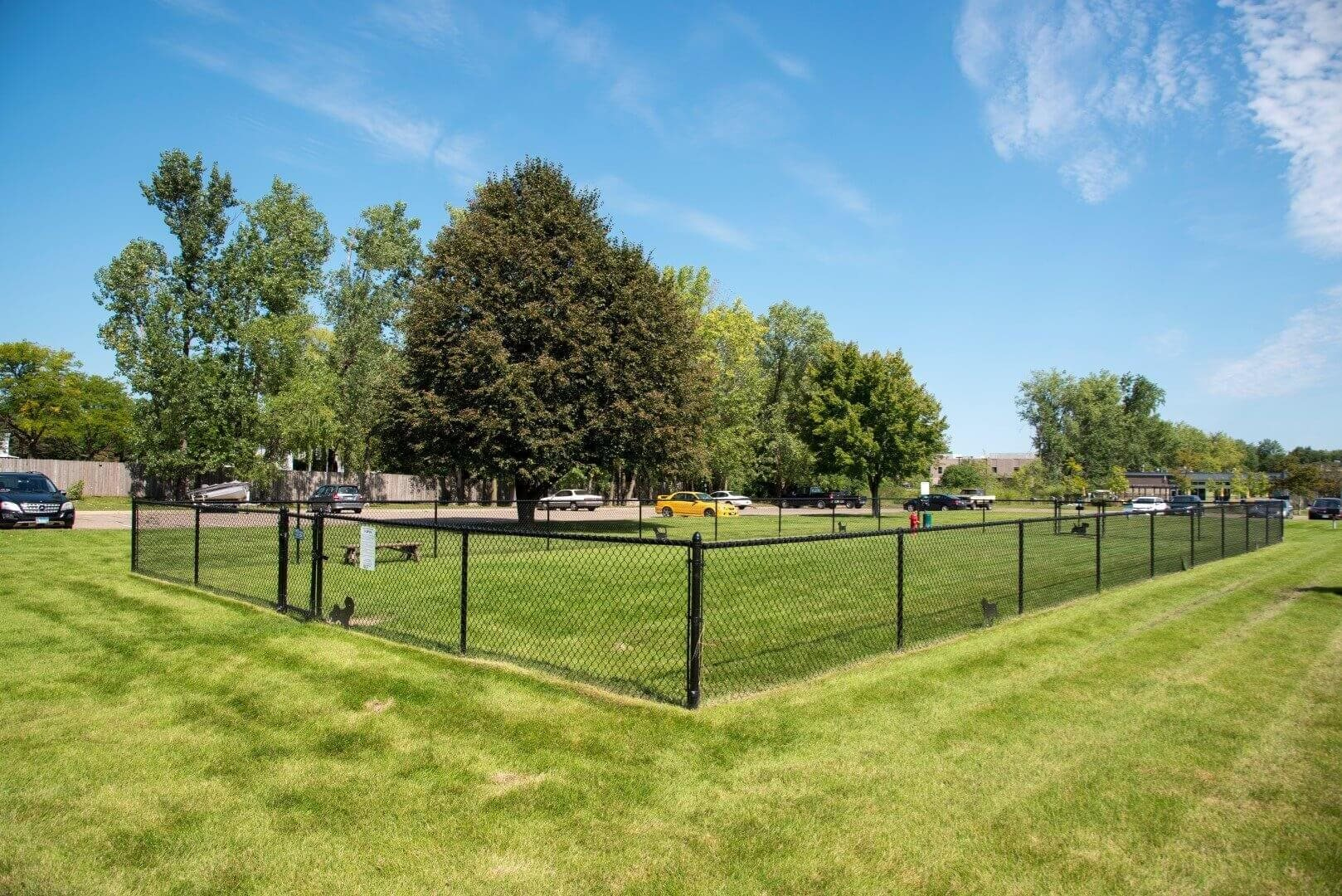 Dog Park at Shorview Grand cheap one bedroom apartments in Shoreview