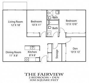 Fairview + Den - Renovated
