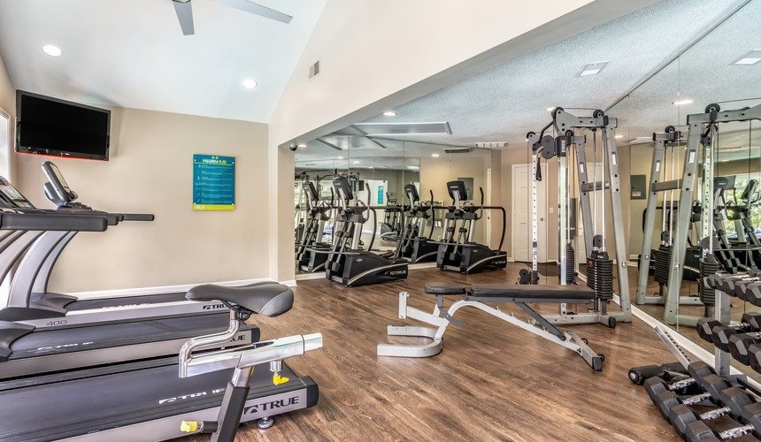 Residential Fitness Center at Hawthorne Creekside in Chattanooga TN
