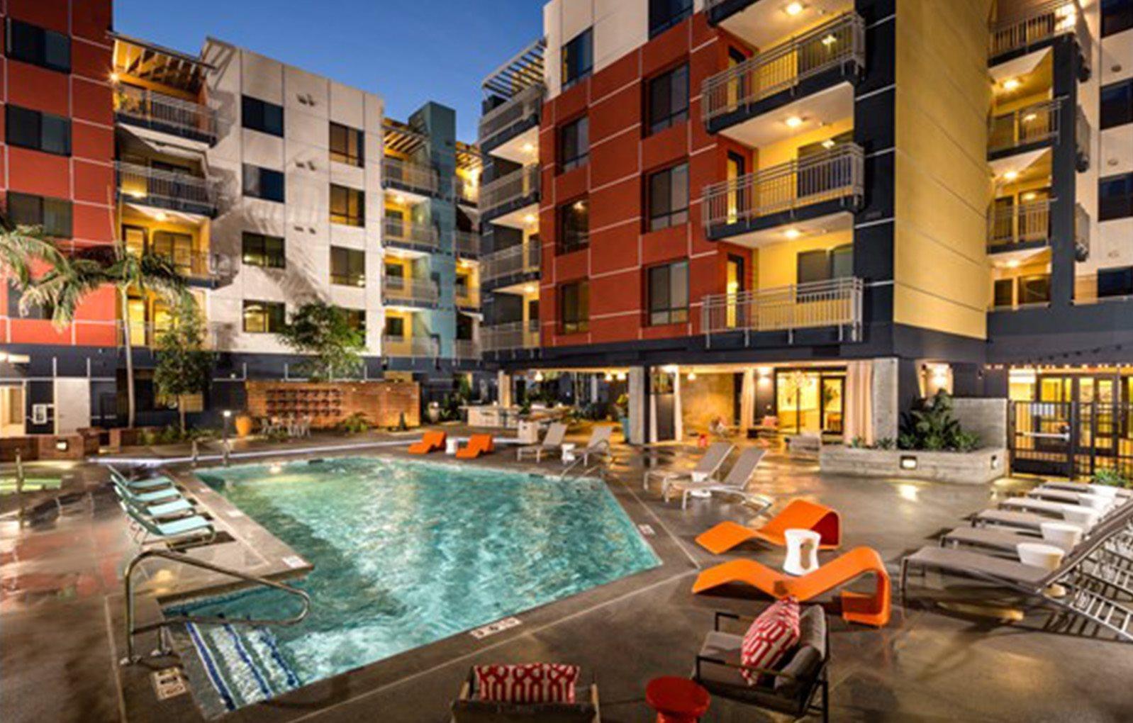 Urban Village apartments pool