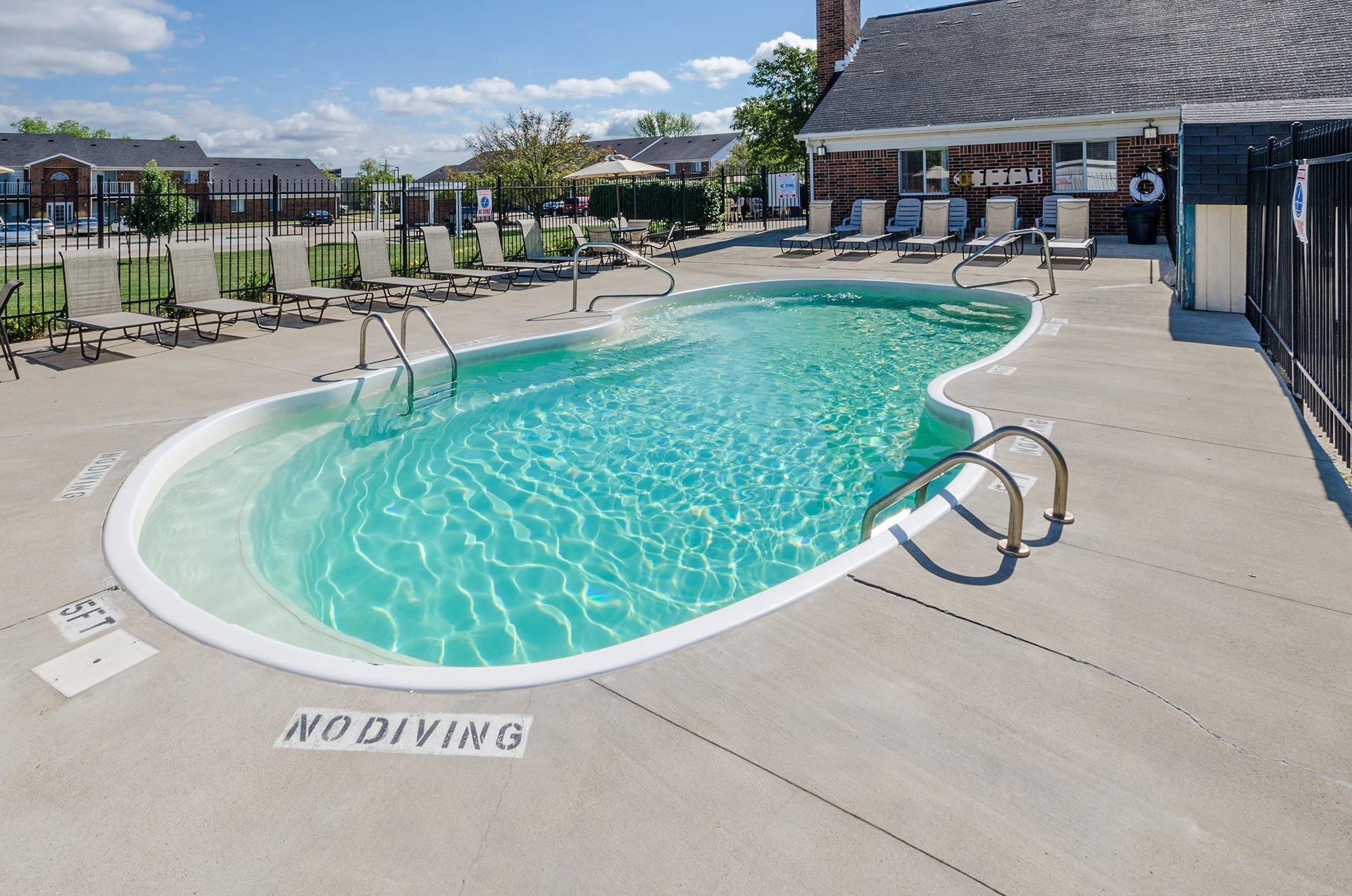 Swimming Pool - Bradford Place Apartments in Lafayette, IN