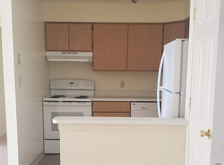 Upgraded cabinets, flooring and appliances in the kitchen