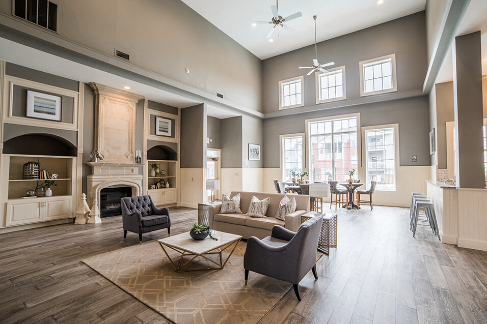 Indoor Common Area at Champion Farms Apartments, Kentucky, 40241