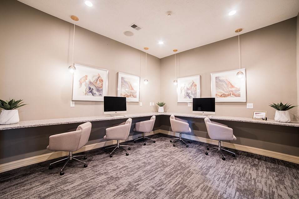 Business Center w/ WiFi at Champion Farms Apartments, Louisville, 40241