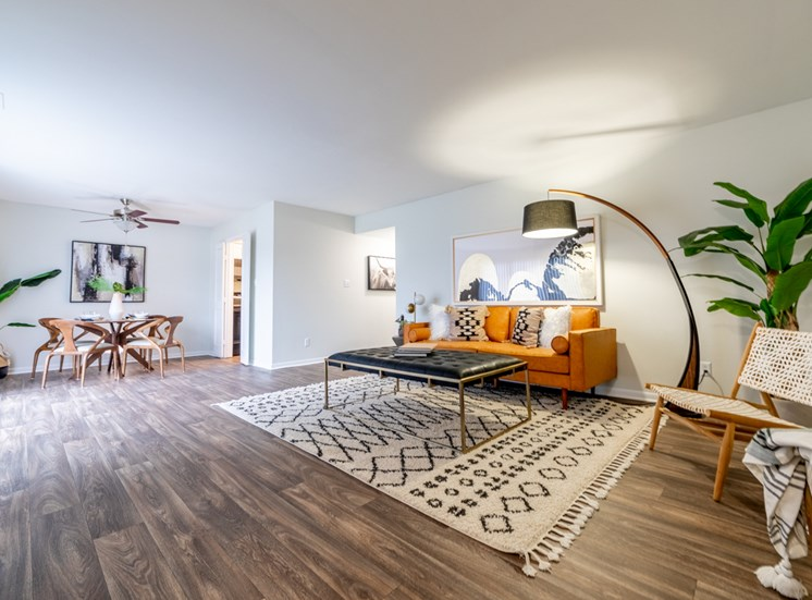 Hardwood Flooring at Governor Square Apartments, Carmel, IN